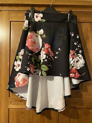 £1.40 • Buy Brand New Without Tags Select Dip Hem Fower Skirt Size 14