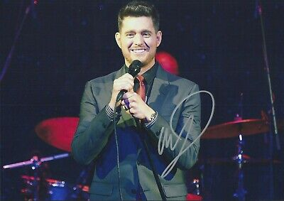 £3.53 • Buy MICHAEL BUBLE Autographed Signed Photo