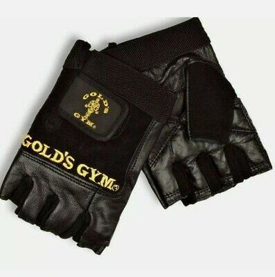 £4.99 • Buy Nearly New Gold's Gym Max Lift Leather Weightlifting Gym Training Gloves Large