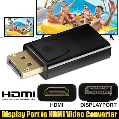 £2.95 • Buy Display Port To HDMI Male Female Adapter Converter DisplayPort DP To HDMI