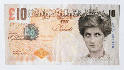 £672.83 • Buy Banksy Authentic Di-faced Tenner £10 Note 2004 W/COA (#302)
