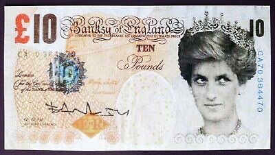 £602 • Buy Banksy Di-faced Tenner £10 Note 2004 Signed (#0313)