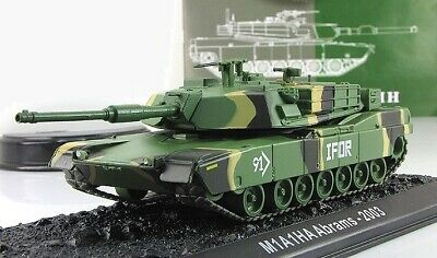 $20.99 • Buy 1:72 US Army Main Battle Tank M1A1HA Abrams 2003 Series  Tanks Of The World
