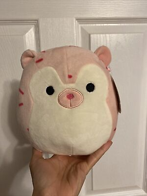 """$ CDN65 • Buy Squishmallow 8"""" Marco The Pink Hedgehog BNWT Mexican Claw Machine Version RARE"""