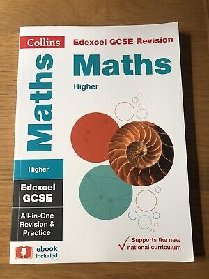 £2 • Buy Collins Edexcel GCSE Revision And Practice Book Higher Maths