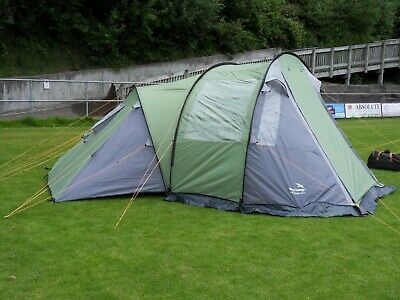 £65.05 • Buy Easy Camp San Remo 400 4 Man Tent. Used Once. Excellent Condition