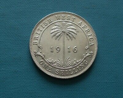 £23 • Buy British West Africa One Shilling Coin 1916h. Uncirculated.