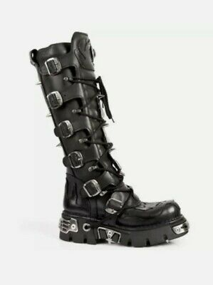£125 • Buy New Rock Reactor Boots Size 9.5/10 UK Devil Skull Limited Edition.