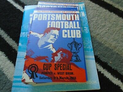 £1.99 • Buy Portsmouth V West Bromwich Albion 1967-8 Fa Cup 5th Round