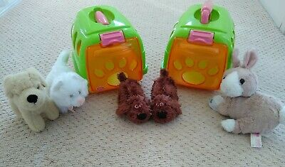 £4.99 • Buy Chad Valley Vet Carry Boxes Toy Animals