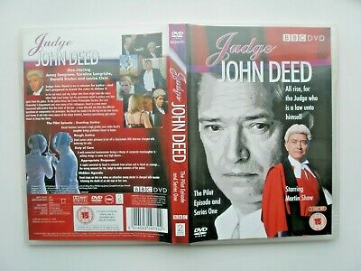 £3.25 • Buy Judge John Deed Dvds The Pilot Episode & Series One Starring Martin Shaw.
