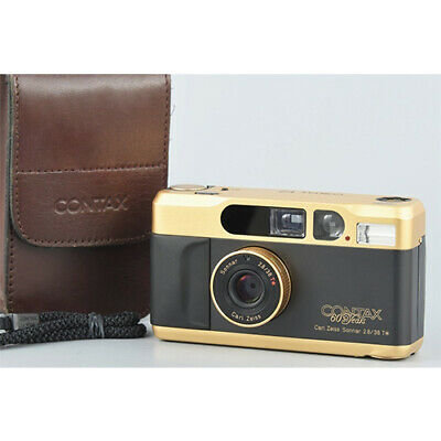 $ CDN2683.55 • Buy NM Contax T2 Gold 60th Anniversary Model Film Camera With Case F/S From Japan