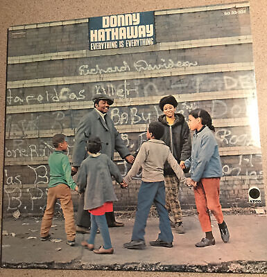 £108.64 • Buy Donny Hathaway Everything Is Everything LP 33-332  Sealed 1970 ATCO