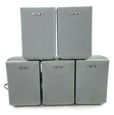 £50.90 • Buy Sony SS-MSP1 Univeral Surround Sound Speakers Stereo Satellite Lot Of 5 Silver