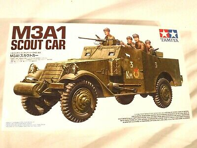 $46.79 • Buy 1/35 Tamiya Russian Or US Army M3A1 Scout Car W/ 5 Russian Soldiers # 363