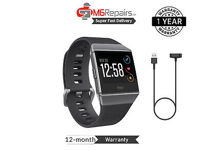 AU274.71 • Buy FITBIT Ionic - Health & Fitness Smartwatch GPS & Heart Rate Monitoring