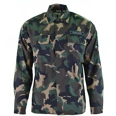 $33.22 • Buy Genuine Hungarian Army Shirt M90 Camouflage Long Sleeve Military Surplus New