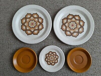 £18 • Buy The Royal Worcester Group Palissy Kalabar Plates X 5 1970's