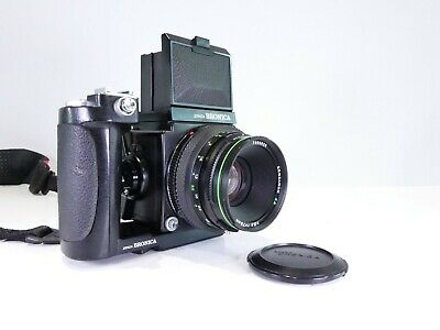 £395 • Buy BRONICA ETRS 120 FILM 6x4.5 MEDIUM FORMAT CAMERA  WITH GRIP AND 75MM LENS