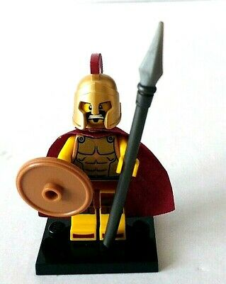 £18.99 • Buy Collectable LEGO MINIFIGURE Series 2: SPARTAN WARRIOR With SHIELD & SPEAR:  VGC