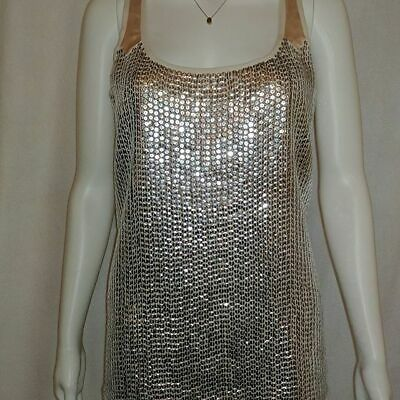 £2.99 • Buy Dorothy Perkins Top, Nude, Size 12 *Party Occasion Summer Holiday* NWT £35