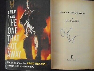 £9.99 • Buy The One That Got Away Book - Signed Chris Ryan