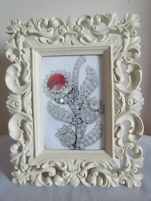 £12 • Buy Rococo Baroque Style Ivory Resin Picture Frame For 6 X 4  Picture