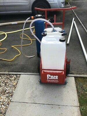 £2700 • Buy Pure Freedom Water Fed Pole & Trolley System + Gutter Vac System & Camera + More
