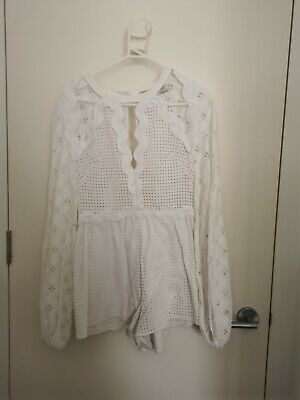 AU99.99 • Buy Alice Mccall In The Night Playsuit Size 8