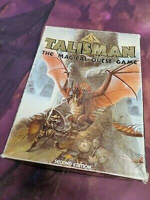 £60.17 • Buy Vintage Talisman 2nd Edition Board Game 100% Complete And EXCELLENT! (1985)