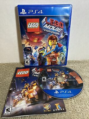 AU21.61 • Buy LEGO Movie Video Game - Sony PlayStation 4 PS4 Complete Tested Rated E10+ Kids