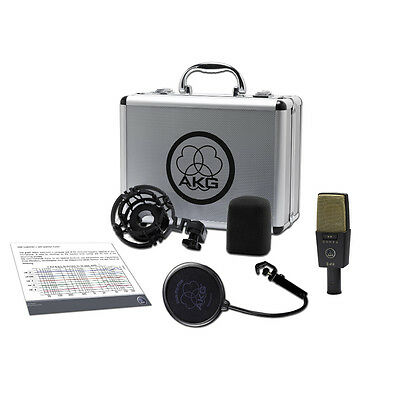 £623.25 • Buy AKG C414 XLII Reference Multipattern Condenser Vocal Solo Instrument Microphone