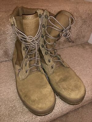 $15.99 • Buy Mcrae Hot Weather Army Boots 3 W Tan Color, Used, Surplus, Military,