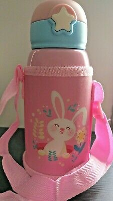 £6.40 • Buy Baby Child Bottle Stainless Steel Vacuum Flask + Insulated Thermos Bag 600 Ml