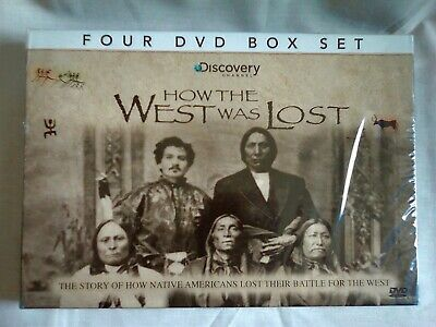 £12.99 • Buy HOW THE WEST WAS LOST, 4 DVD Box Set NEW + SEALED, Discovery Channel