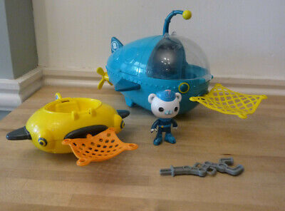 £15.99 • Buy Octonauts Bundle Gup A And Gup D With Nets And Barnacles BATH TOYS
