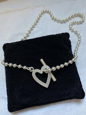 £200 • Buy Gucci Beaded Heart Necklace Boule Chain