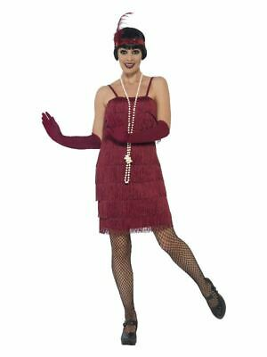 £12.99 • Buy Womens 1920s Flapper Fancy Dress Costume Charleston Great Gatsby Ladies Outfit
