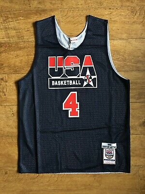 £59.92 • Buy Mitchell & Ness NBA Authentic Reversible Practice Jersey USA 1992 Dream Team