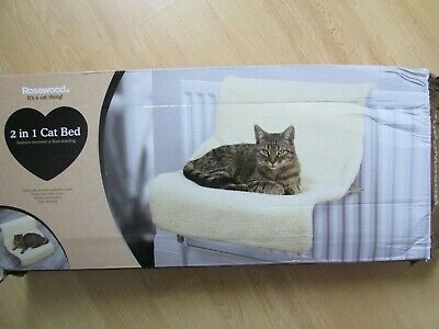 £4.99 • Buy  ROSEWOOD Faux Sheepskin 2 In 1 Radiator Bed And Floor Standing Cat Bed