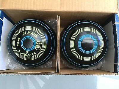 £39.99 • Buy A Pair Of Almark Clubmaster Short Mat Bowls Size 5.There Are Only Two Bowls.