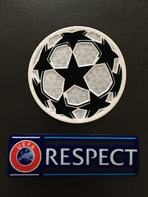 £4.50 • Buy Uefa Champions League Starball And Respect Football Shirt Patch Badge Set.