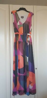 £5 • Buy Phase Eight Multi-coloured Maxi Dress - Size 8 - Unworn Without Tags