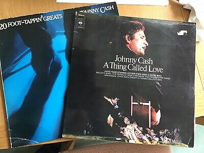 £3.50 • Buy Johnny Cash 2 LP Vinyl Bundle. 20 Foot Tapping Greats And A Thing Called Love