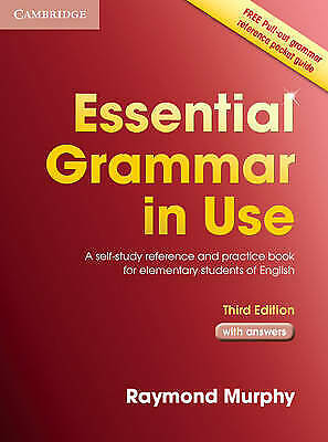 £9.10 • Buy Essential Grammar In Use With Answers: A Self-Study Reference And Practice Book…