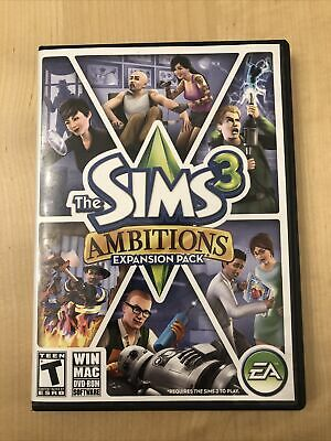 £4.21 • Buy The Sims 3 Ambitions PC Game Complete 2010 Expansion