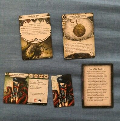 £9.99 • Buy Arkham Horror Hour Of The Huntress PROMO CARDS ONLY (NO BOOK)