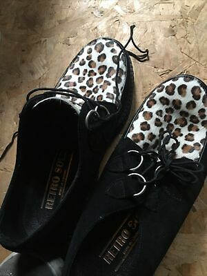 £35 • Buy Brothal Creepers Shoes Leopard Style