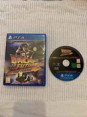 AU93.33 • Buy Back To The Future The Game Ps4 Playstation 4