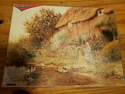 £0.99 • Buy Chad Valley 500pc Thatched Cottages Jigsaw